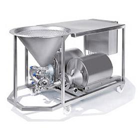powder-liquid-shear-mixer
